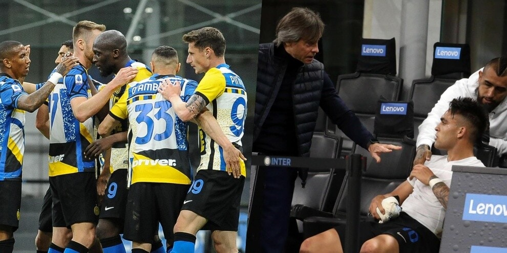 Inter inarrestabile: tris alla Roma. Battibecco Lautaro-Conte
