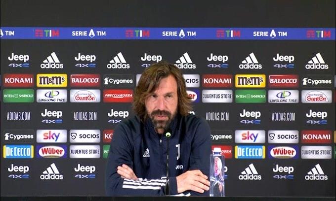 """Pirlo: """"Dybala e Ronaldo insieme? Non so chi giocherà"""""""
