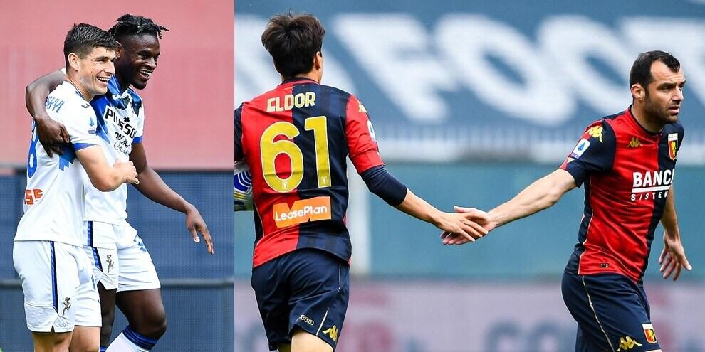 Zapata, Pandev e Shomurodov show: festa Atalanta, Genoa ko 4-3