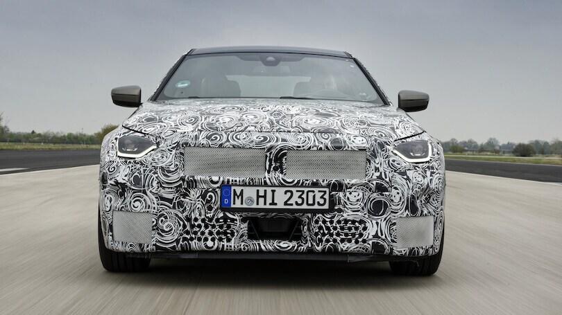Nuova BMW Serie 2 Coupé: le immagini dei muletti