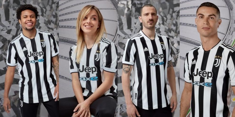 Juve, le immagini della nuova maglia per il 2021-2022
