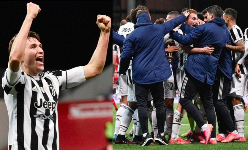 Kulusevski e Chiesa stendono l'Atalanta: la Coppa Italia è della Juve