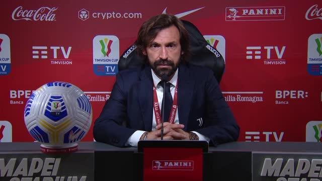 """Pirlo si conferma e punta all'Inter: """"Supercoppa? non vedo l'ora"""""""