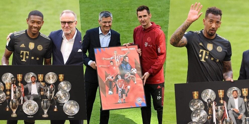 Bayern Monaco ai saluti: non solo Alaba e Klose