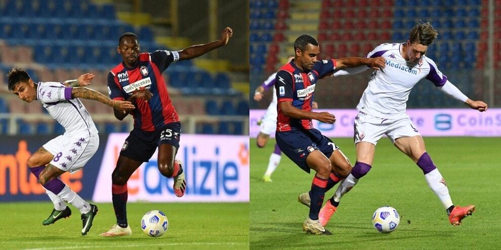 Simy e Vlahovic non pungono: 0-0 fra Crotone e Fiorentina