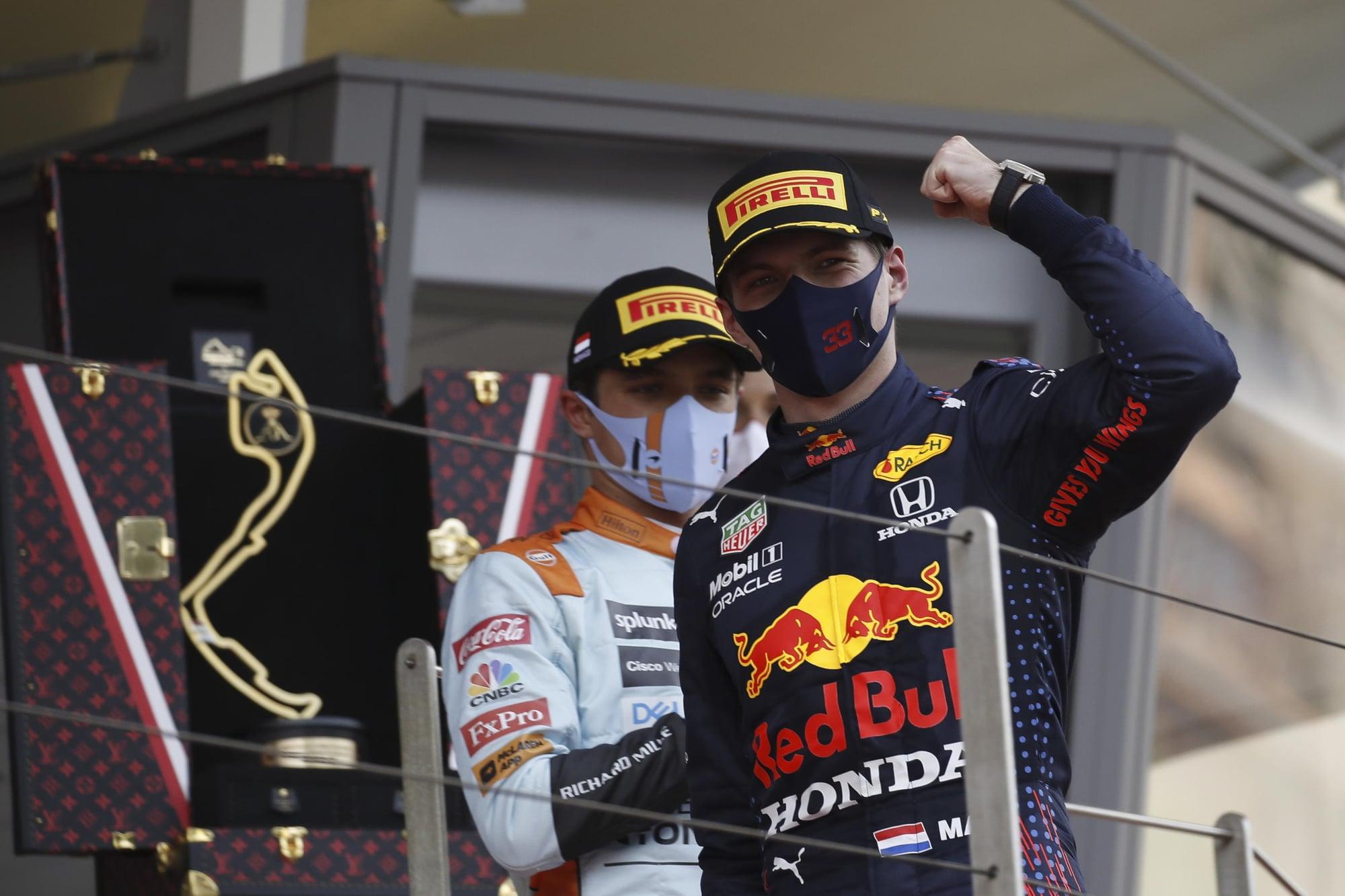 F1 Gp Monaco, Verstappen: