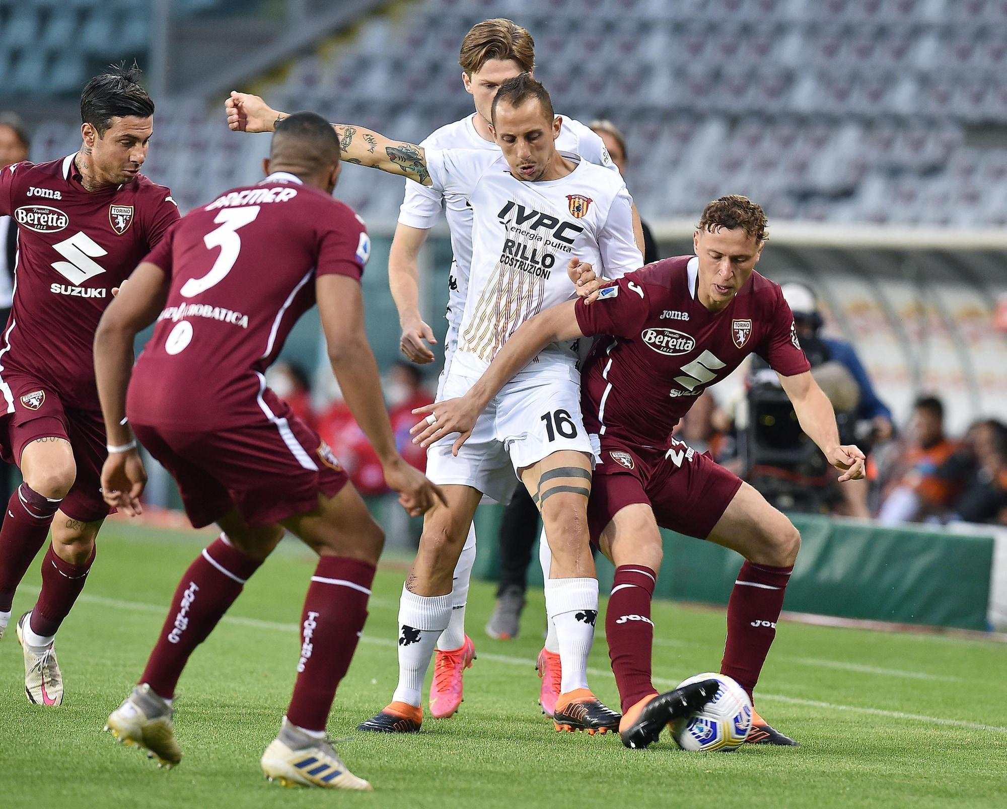 Tello risponde a Bremer: il Benevento chiude con un pareggio contro il Torino