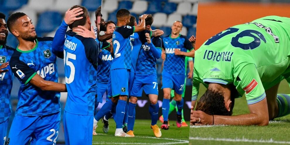 Sassuolo, vittoria sulla Lazio: al Mapei Stadium é 2-0