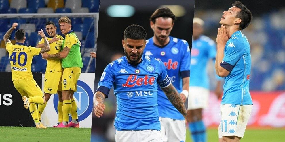 Napoli fuori dalla Champions League: il Verona beffa Gattuso
