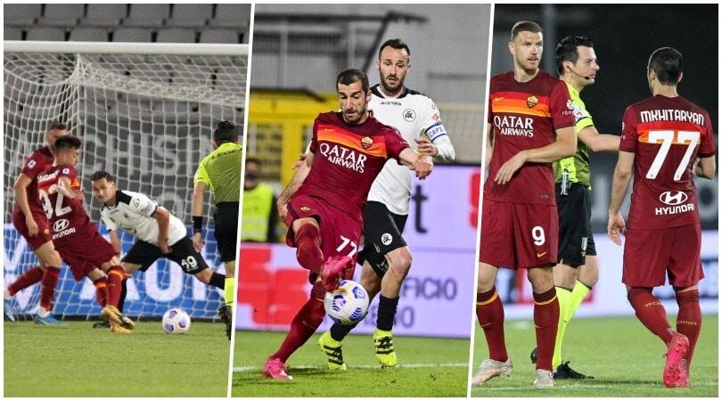 El Shaarawy e Mkhitaryan decisivi: la Roma va in Conference League