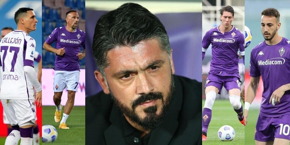 La nuova Fiorentina di Gattuso: ecco come giocherebbe
