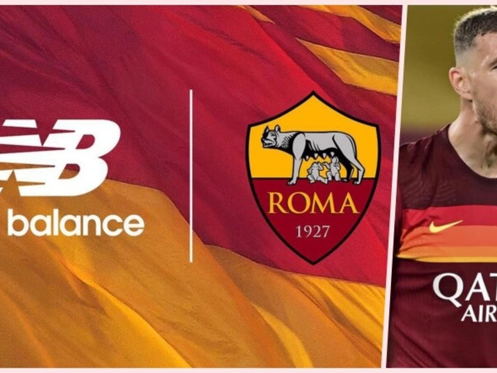 Roma, la maglia New Balance è pronta. Tra i testimonial anche Dzeko