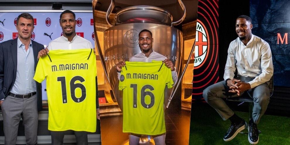 Milan, Maldini presenta Maignan: presa la maglia numero 16