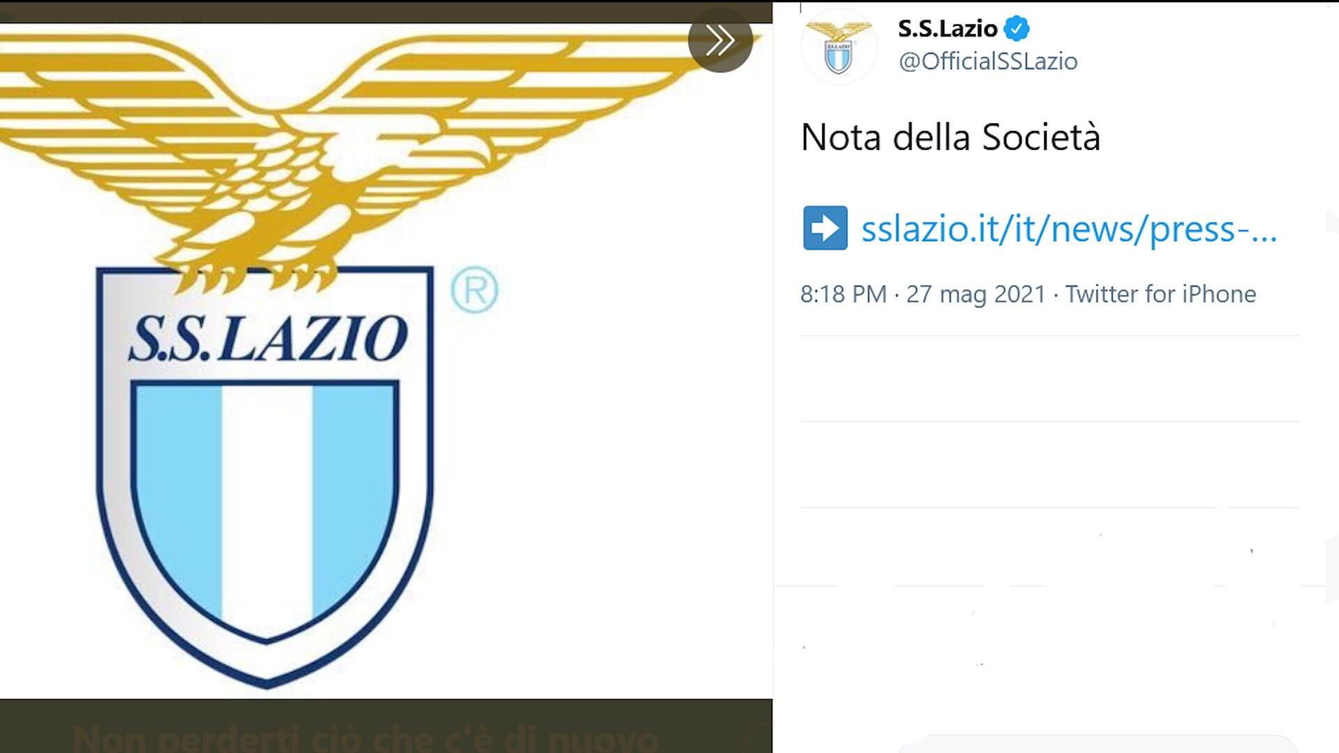"""Lazio, il comunicato su Inzaghi: """"Rispettiamo il suo ripensamento"""""""