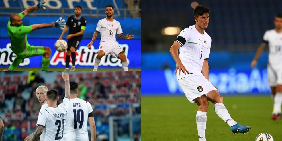 Politano e Pessina show! L'Italia batte San Marino 7-0