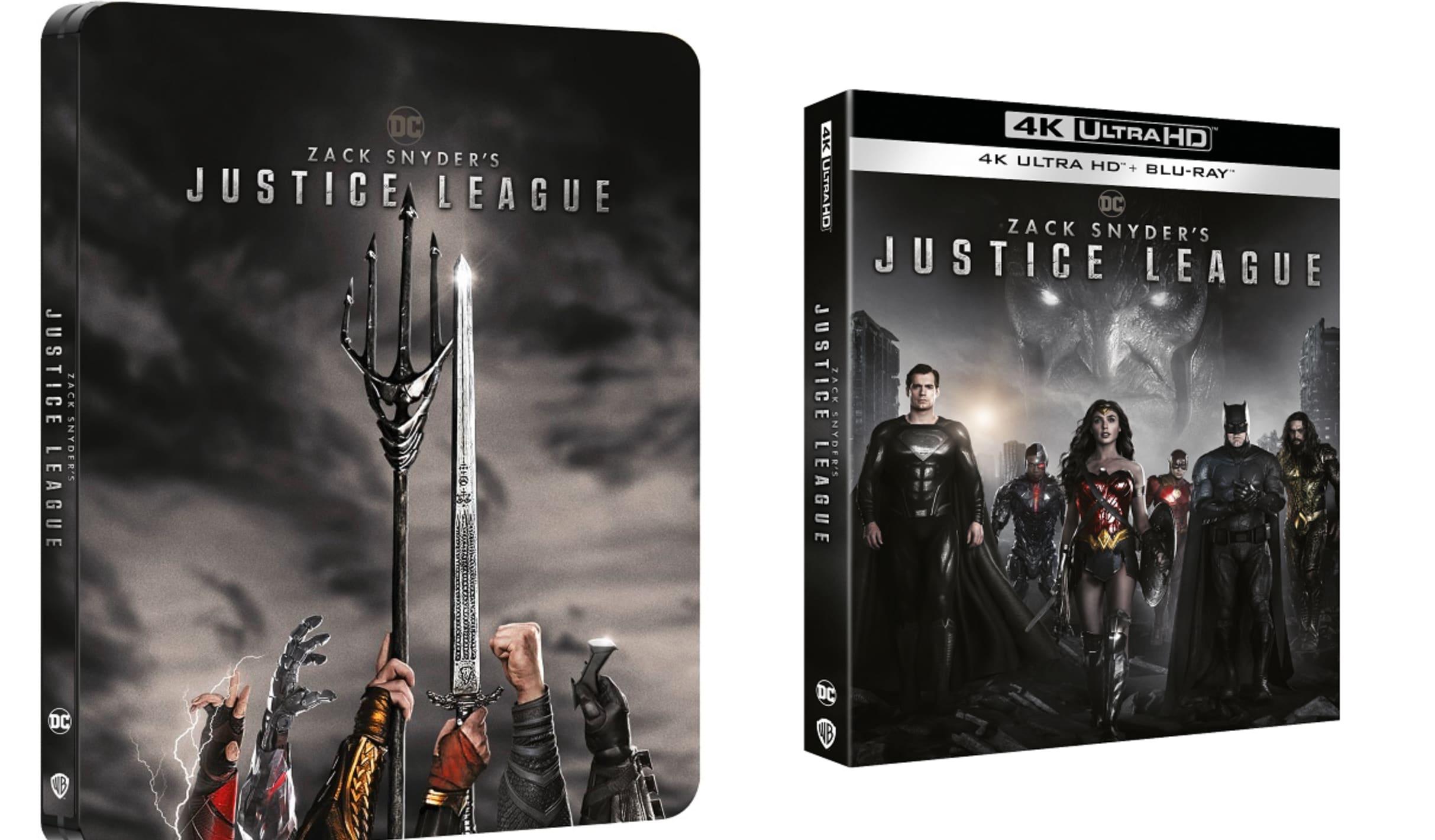 230527918 48e19483 cd06 4bed a46d 86d7bd028d5c - Zack Snyder's Justice League disponibile in DVD, Blu-Ray e 4K UHD