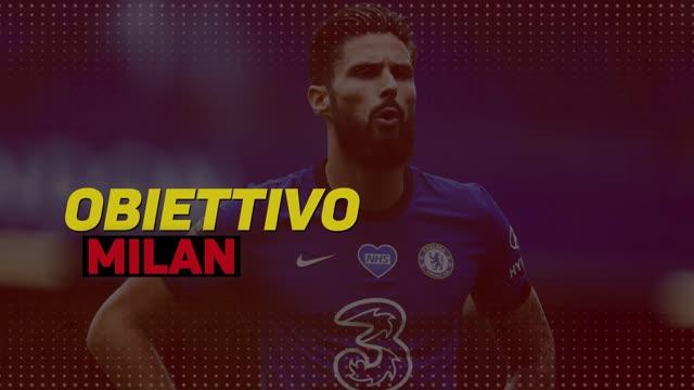 Olivier Giroud, obiettivo Milan