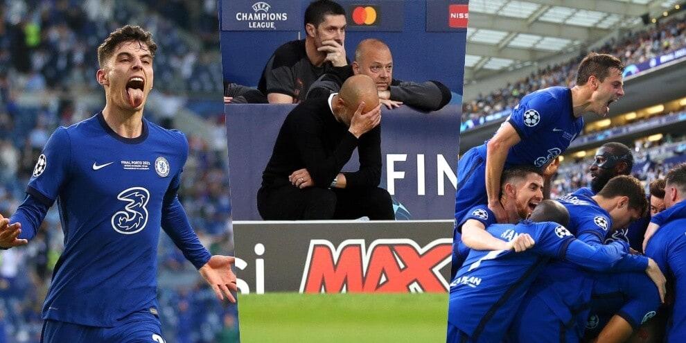 Havertz-gol, la Champions è del Chelsea: Guardiola disperato!