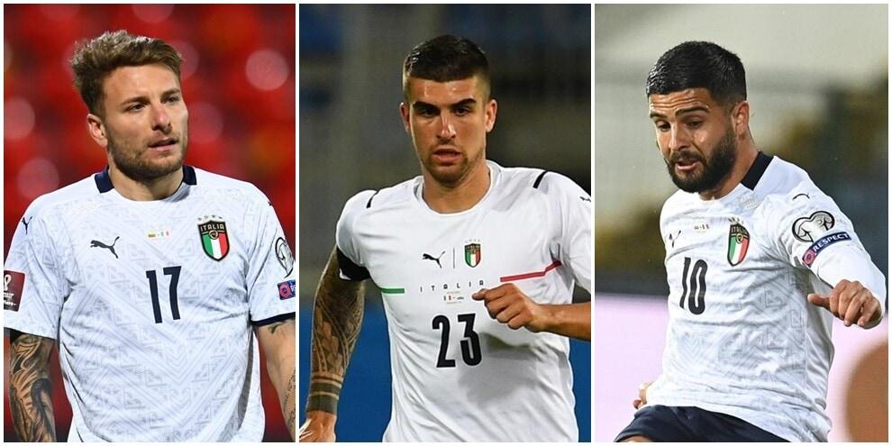 Italia, i 28 convocati di Mancini per Euro 2020