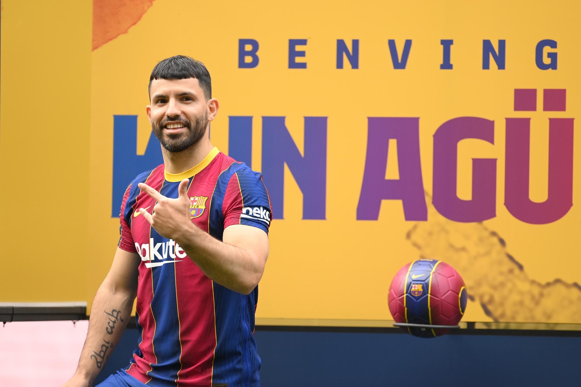 Il Barcellona annuncia Aguero: al Camp Nou la presentazione