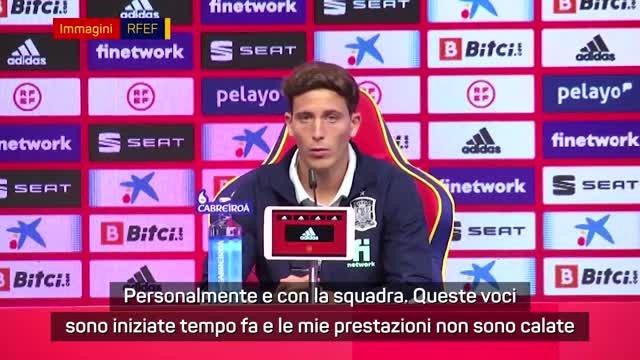 """Napoli, senti Pau Torres: """"Voci di mercato? Sono tranquillo"""""""