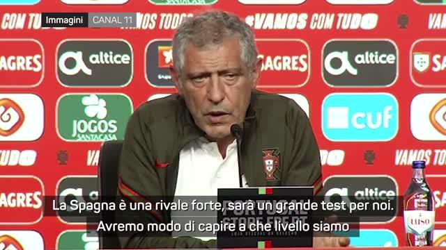 """Fernando Santos: """"Spagna? Test importante"""""""