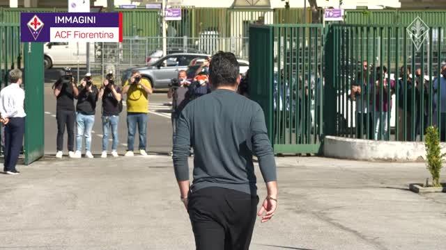 Fiorentina, primo giorno viola per Gattuso