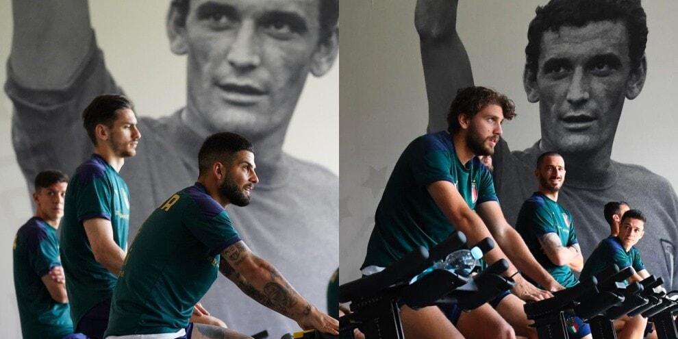 L'Italia pedala verso Euro 2020 'scortata' da Gigi Riva