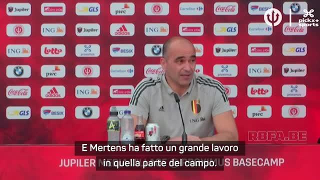 "Martinez: ""Mertens decisivo anche quando non segna"""