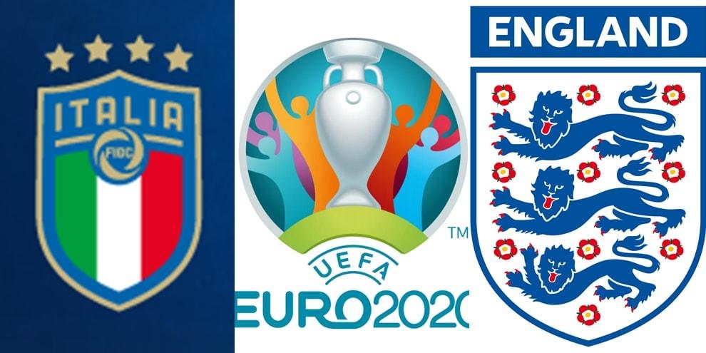 Gli stemmi delle squadre degli Europei di calcio