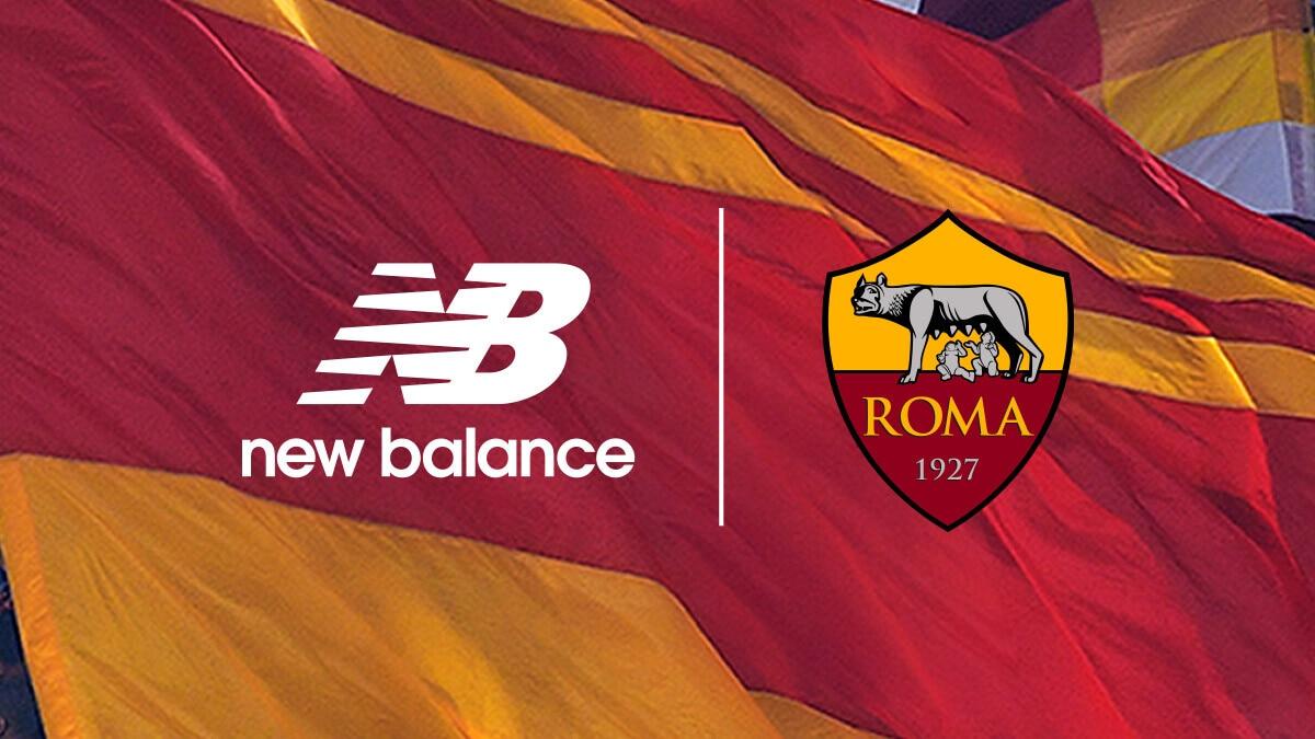 Roma, la New Balance: