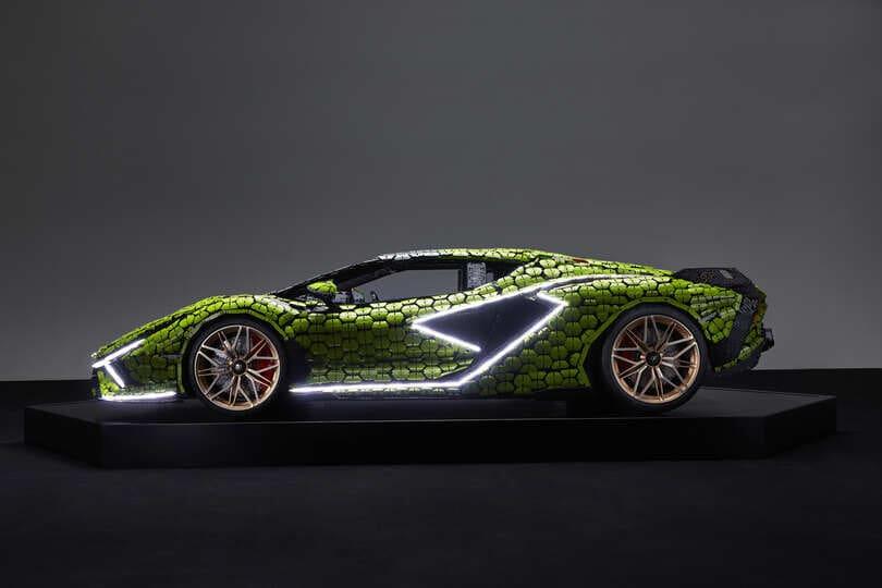 Lamborghini Sián, adesso è anche in mattoncini LEGO