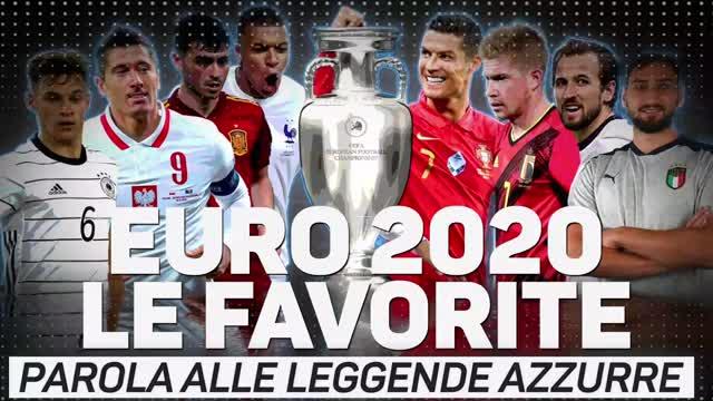 Euro 2020, le favorite: parola alle leggende azzurre
