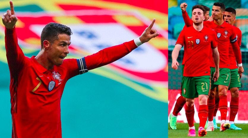 Ronaldo, gol in Portogallo-Israele: è pronto per l'Europeo