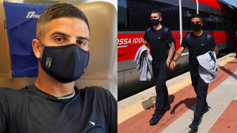 Italia, parte l'Europeo: viaggio in treno per il debutto a Roma