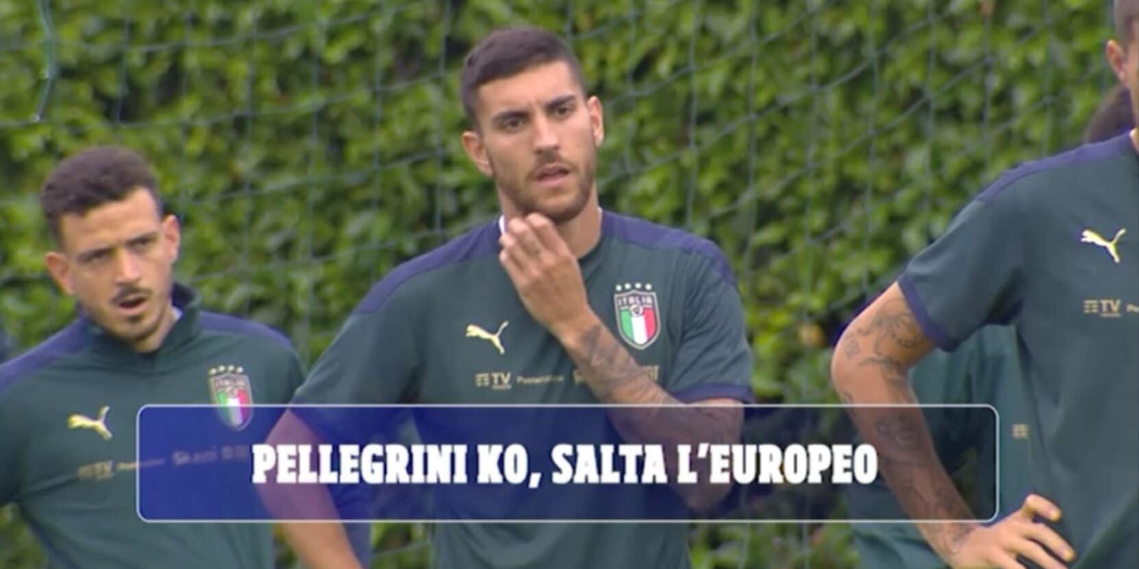 Euro 2020, Pellegrini lascia il ritiro: addio Europeo