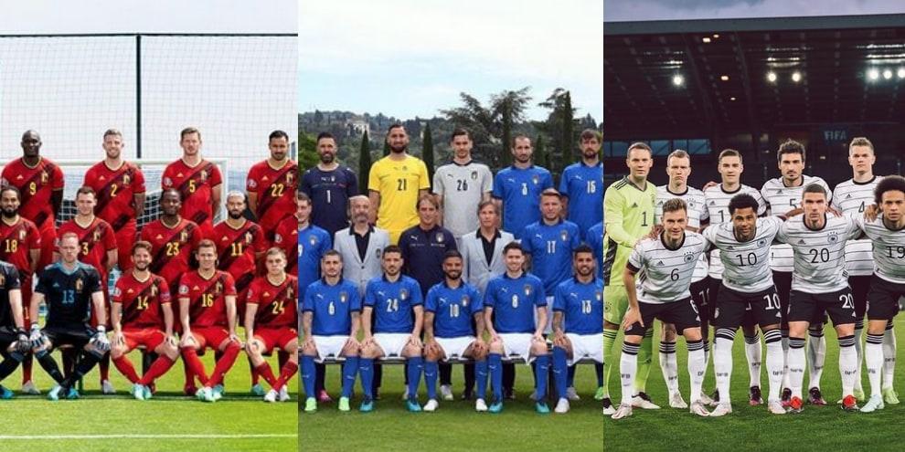 Europei di calcio, i soprannomi delle 24 squadre