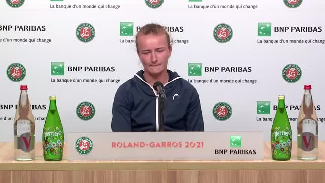 """Roland Garros, Krejcikova in finale: """"Sono così emozionata"""""""