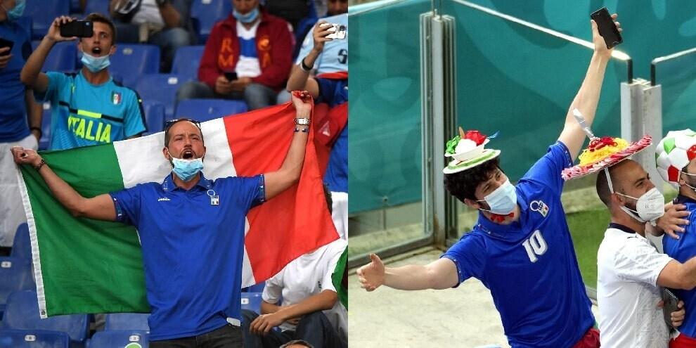 Turchia-Italia, che festa per il ritorno dei tifosi all'Olimpico