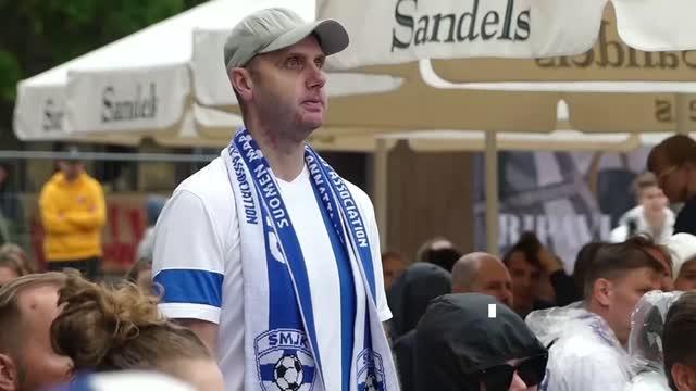 Helsinki, tifosi sotto shock per Eriksen