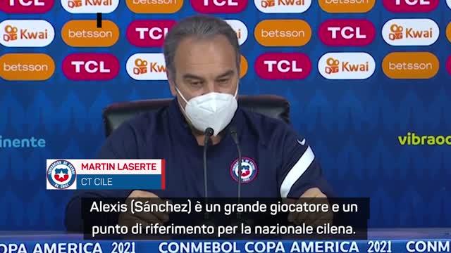 """Cile, Lasarte ci crede: """"Alexis è speciale, lo aspettiamo ai quarti"""""""
