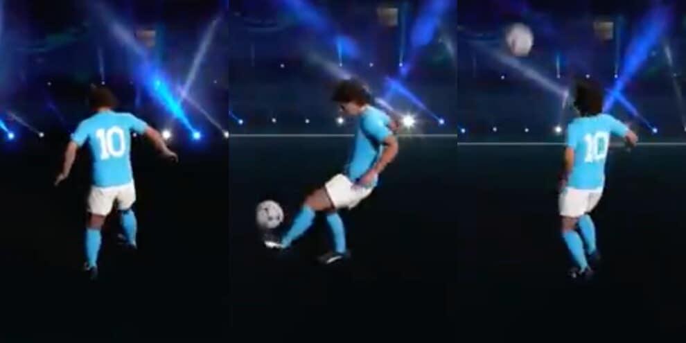 Argentina, l'omaggio da brividi a Maradona prima della Coppa America