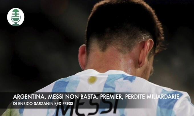 Argentina, Messi non basta. Premier, perdite miliardarie