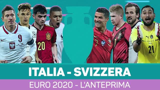 Euro 2020: Italia-Svizzera, l'anteprima
