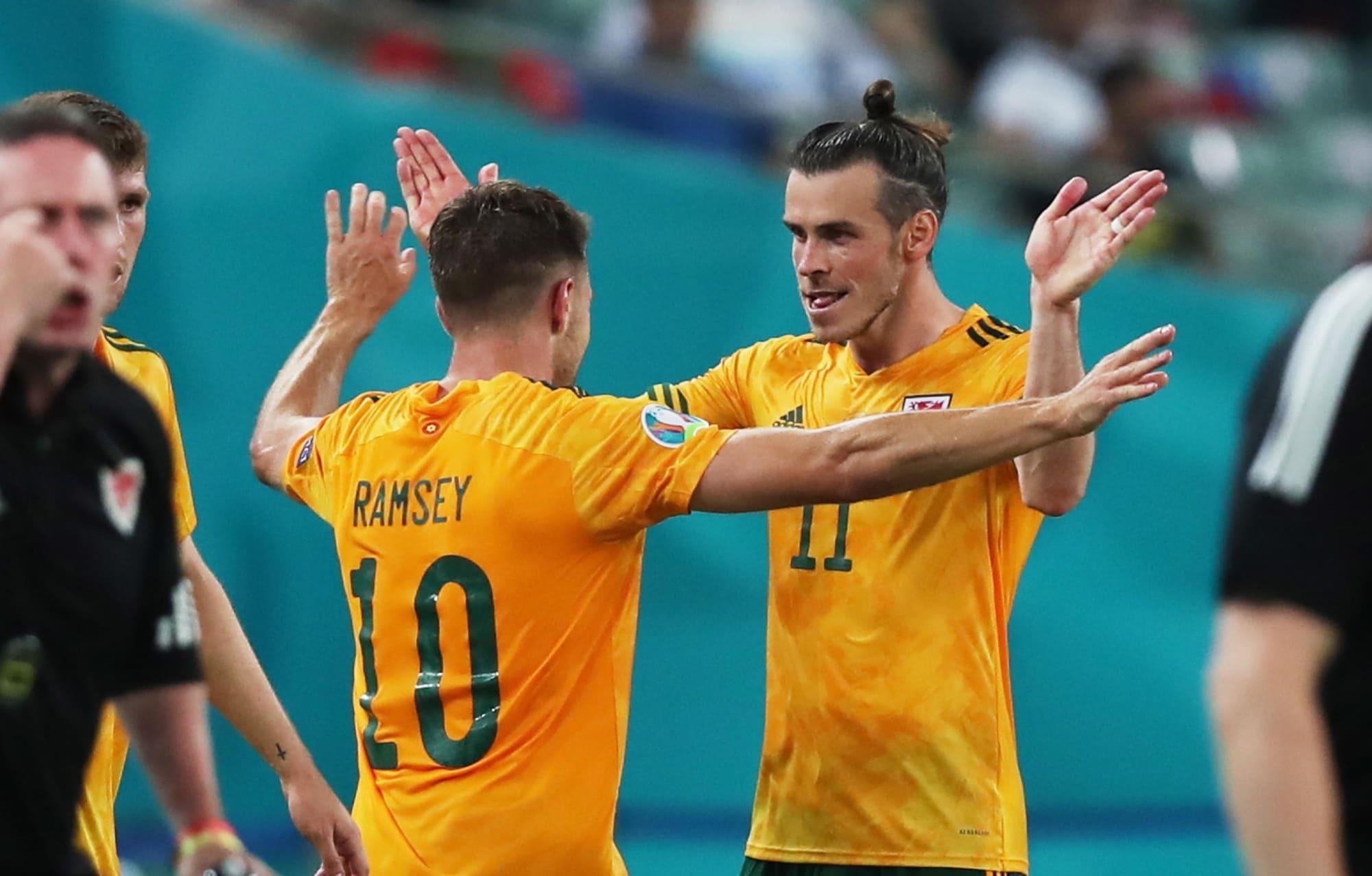 Bale sbaglia, Ramsey no: il Galles si rialza