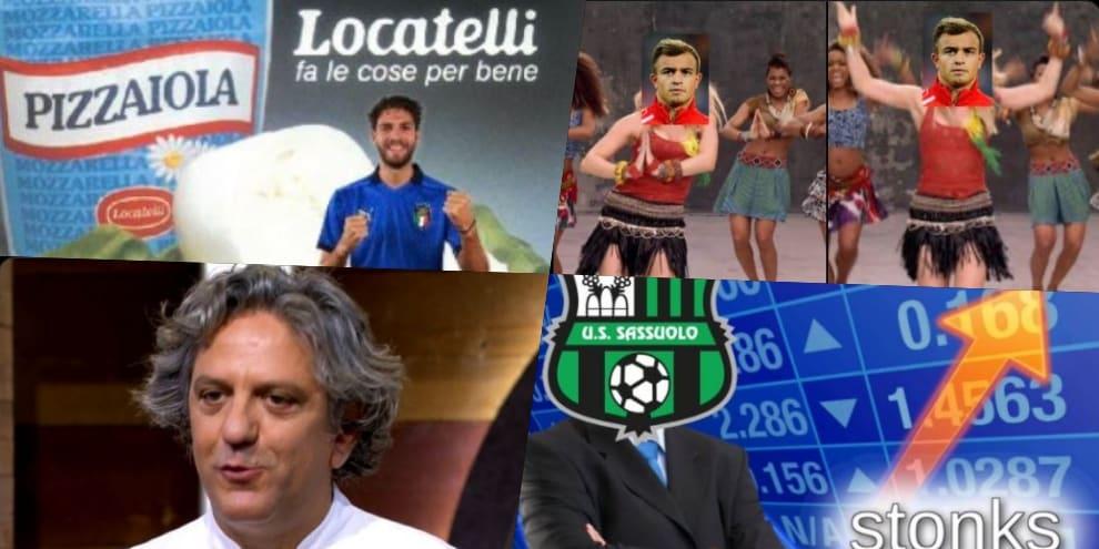 """Italia-Svizzera, ironia social: Locatelli """"fa le cose per bene"""""""