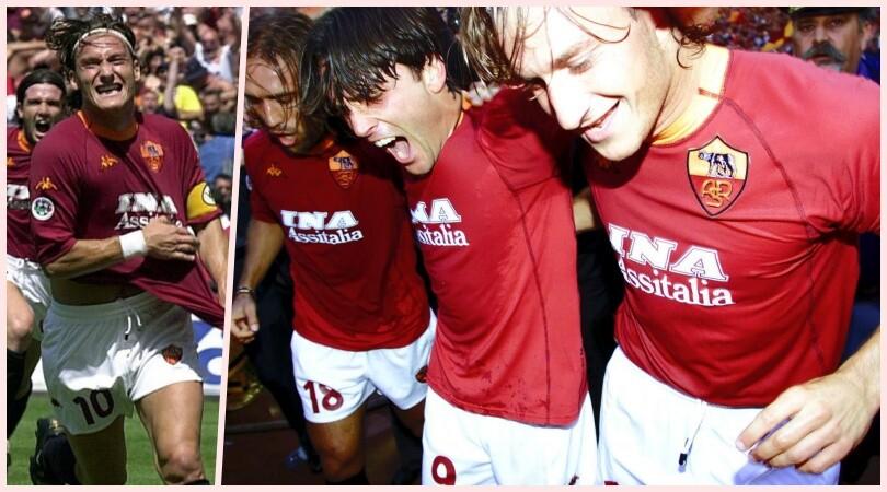 Roma, vent'anni fa lo scudetto: le immagini di Roma-Parma 3-1