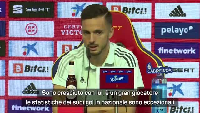 """Sarabia: """"Non è colpa di Morata, è tra i migliori in Europa"""""""