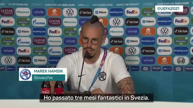 "Hamsik: ""Sto bene. La Svezia? Squadra tosta"""