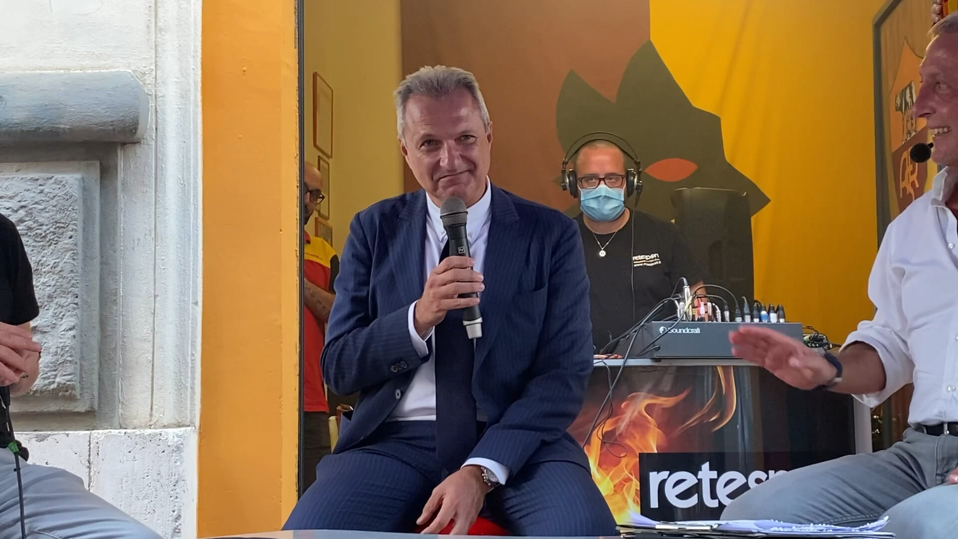 """Roma, Fienga: """"Vogliamo che Mourinho ci insegni a vincere"""""""